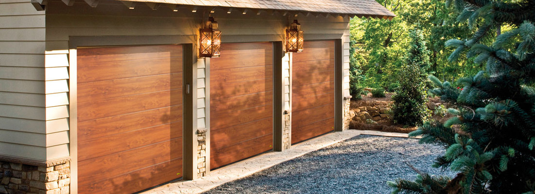 Sectional garage doors - convenience and modernity