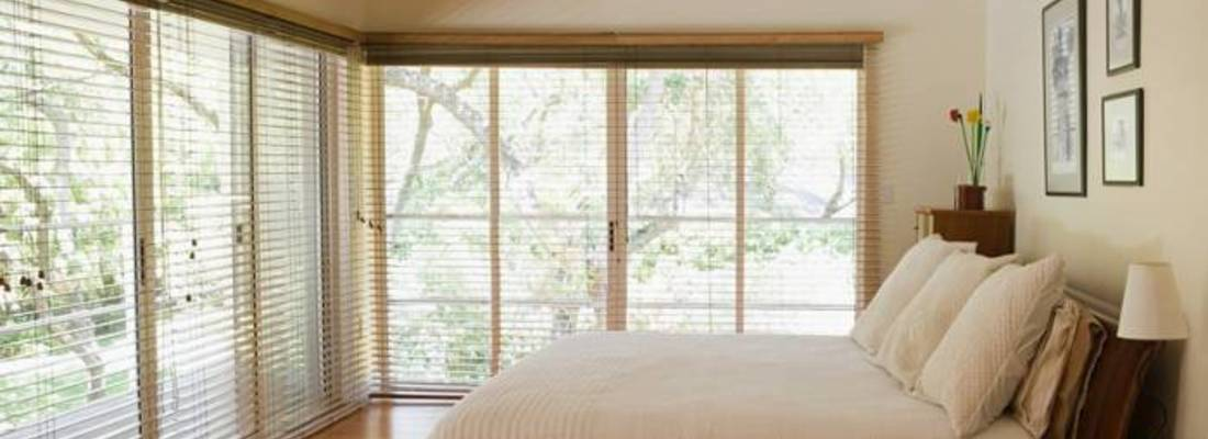 What rooms are suitable for wooden blinds?