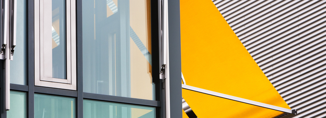 Vertical window awnings - exceptional window cover