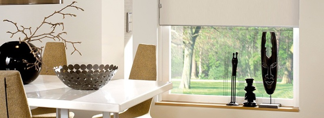 Fabric Roller Blinds - both functional and decorative