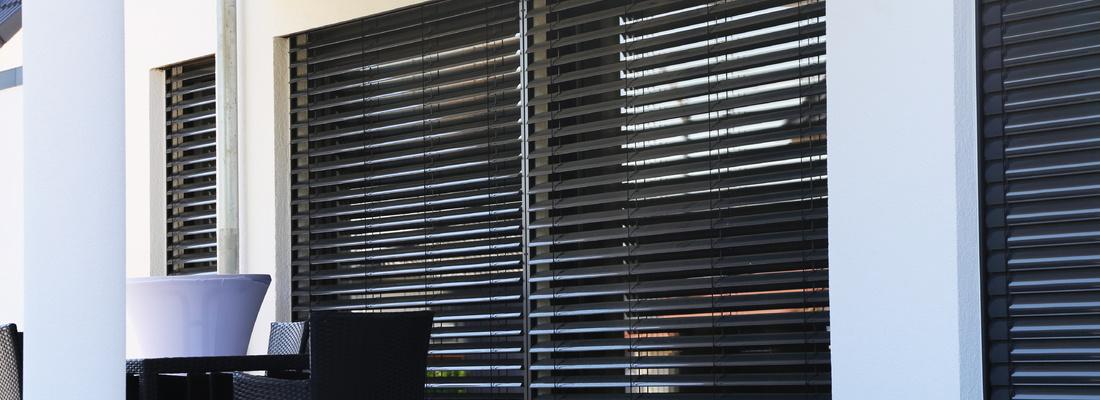 Facade blinds - external sun protection