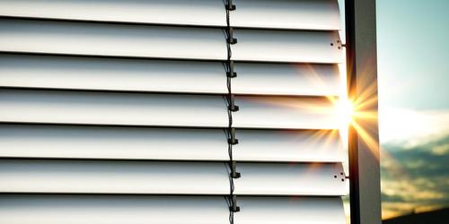 Aluminum blinds - one sheath, many possibilities