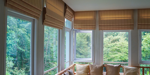 Roman blinds - stylish window covering