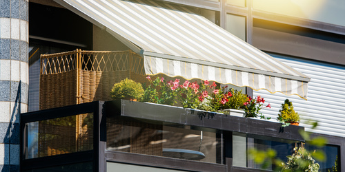 Awnings - the best for summer