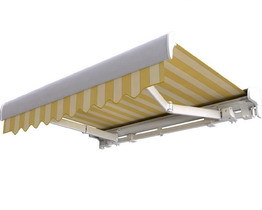 Patio awning PREMIUM in cassette Palladio