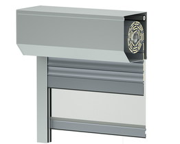 Roller shutter with mosquito