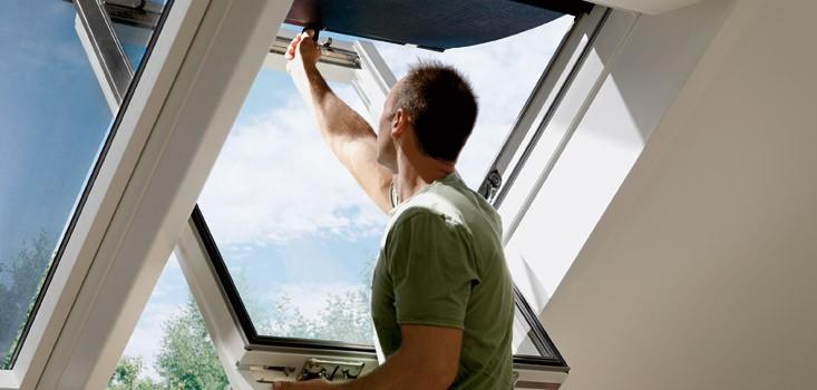 awning blinds for fakro and velux windows. Black Bedroom Furniture Sets. Home Design Ideas