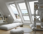 Roller blind VELUX RML electrical